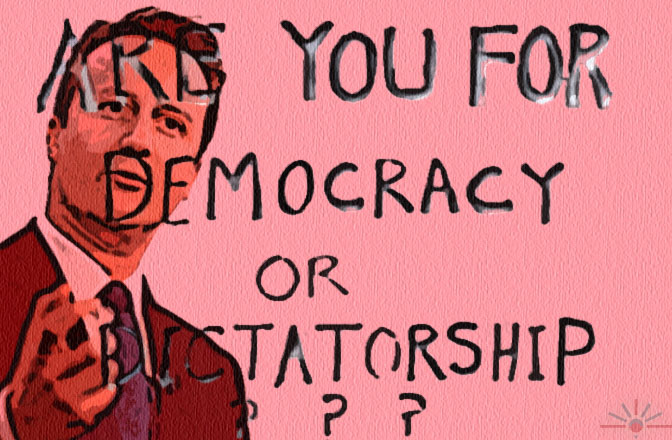 Difference Between Democracy And Dictatorship Essay