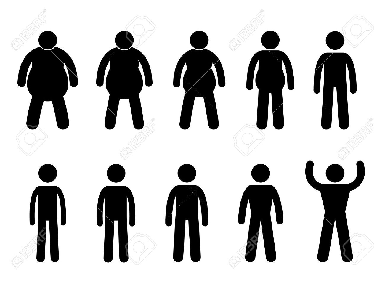 11965723-Fat-to-Thin-Process-and-Thin-to-Muscular-Concept-Icon-Symbol-Sign-Pictogram-Stock-Vector.jpg